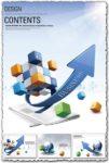 Creative business content vectors