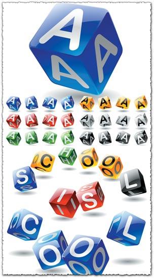 Cube model vectors