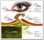 Studio design business cards