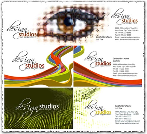 Studio design business cards