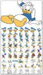Donald Duck vectors