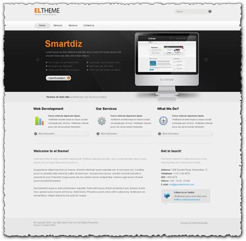 Html theme – Premium design template