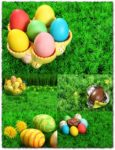 Easter eggs clipart images