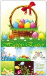 Easter vector patterns