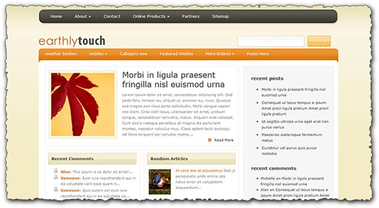 EasyTouch Elegantthemes wordpress template