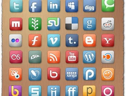 Elegant Themes social media icon set