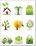Environmental vector icons