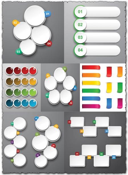 Eps vector stickers design