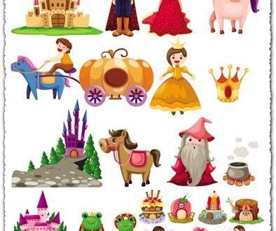 Fairy tale cartoon characters