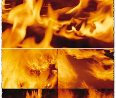 Fire textures collection