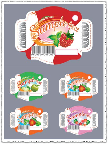 Fruit stickers and labels