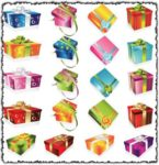 Gift boxes vectors