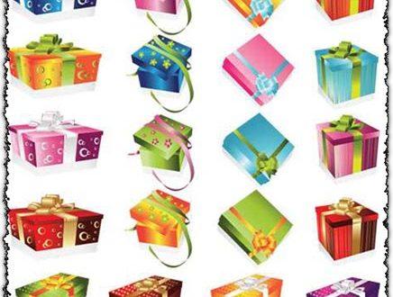 Gift boxes vectors