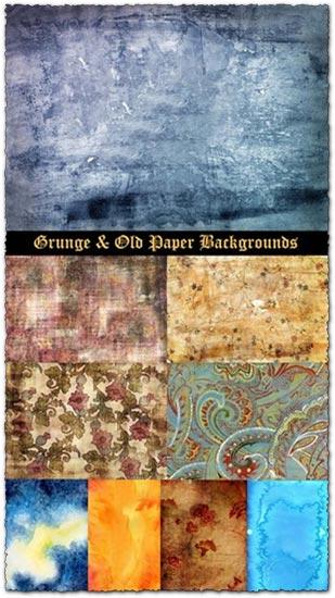Grunge old paper textures