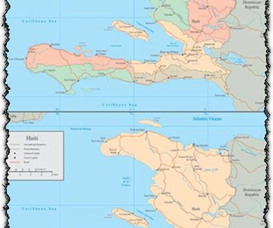 Haiti vector maps