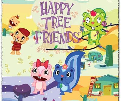 Cartoon characters vector from Happy Tree