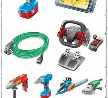 Hardware power tools vectors