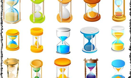 Hourglass vectors design
