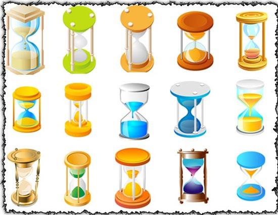 Hourglass vectors design