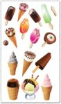 Ice cream cone vectors