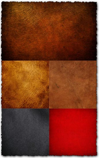 Leather textures design