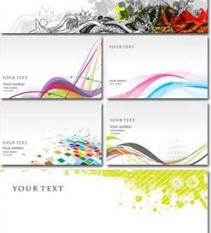 Letterhead and envelope vectors
