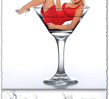 Martini glass images collection