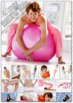 Girls making exercises images
