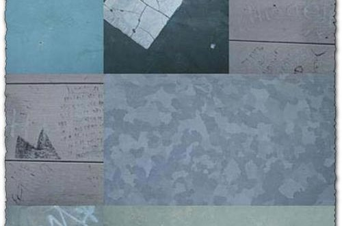 Metal textures collection themes