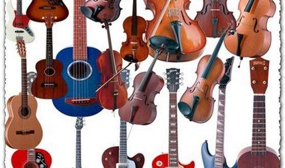 Psd musical instruments