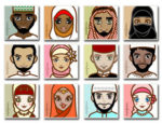 Muslim people avatars