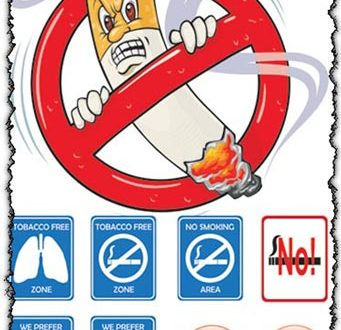 No smoking symbol vectors