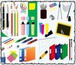 Office accessories vectors
