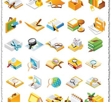 Office design vectors