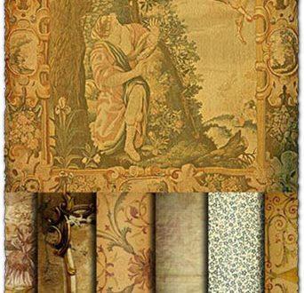Old paper texture set