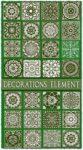 Oriental decorations vector elements