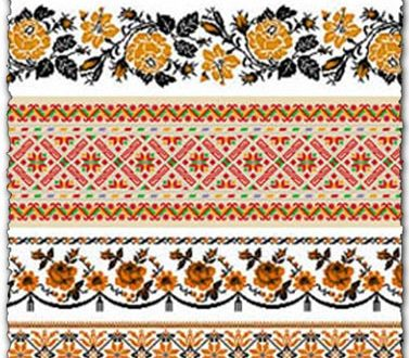 Oriental ornament borders vectors for illustrator and corel draw