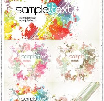 Paint grunge background vectors