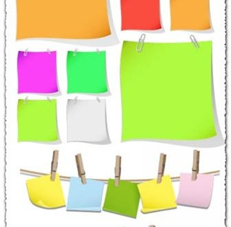 Paper Cliparts Vector EPS