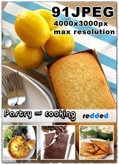 Pastry and cooking images collection