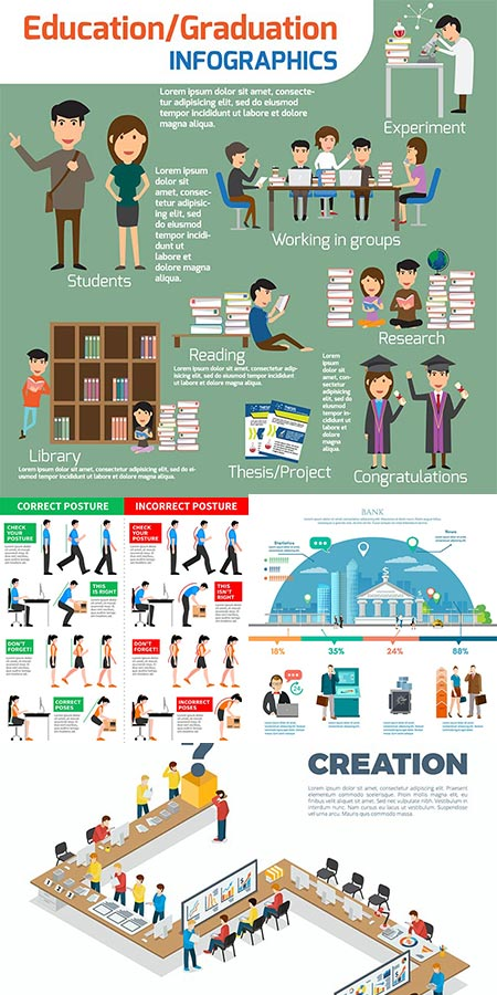 People health education vectors