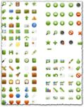 Various transparent windows icons