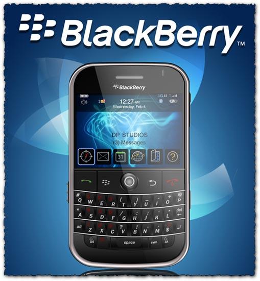 Psd Blackberry mobile phone