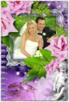 Psd wedding photo album design