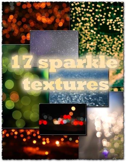 Sparkle textures design