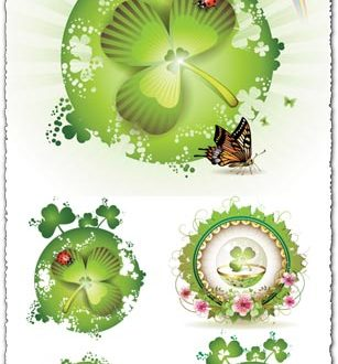 St Patricks day cards design