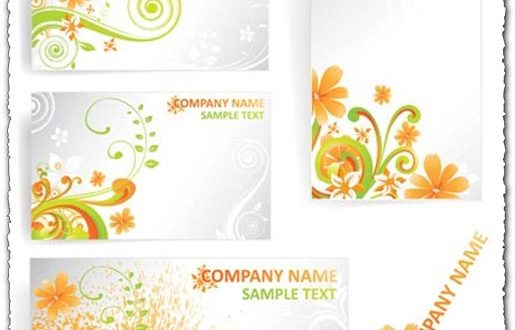 Summer business cards templates