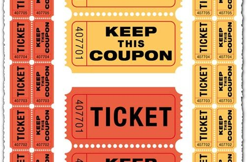 Ticket coupon vector models