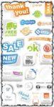 Trade sticker in vector format