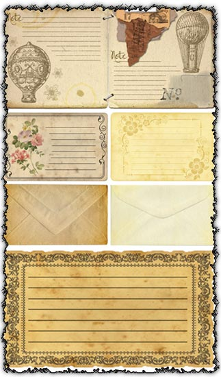 Transparent cards and envelopes